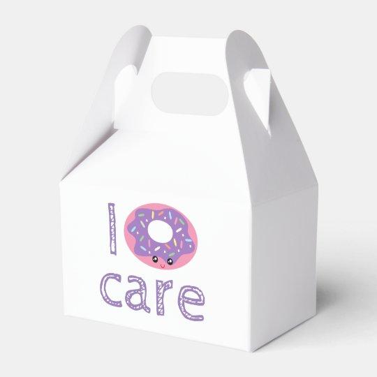 I doughnut care cute kawaii funny doughnut pun