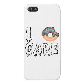 """""""I Doughnut-Care"""" IPhone 5 Case"""