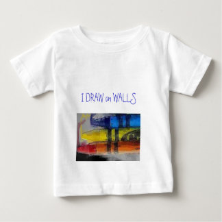I DRAW on WALLS Baby T-Shirt