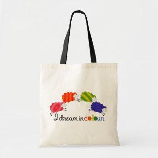 I Dream in Colour Sheepy tote Tote Bag