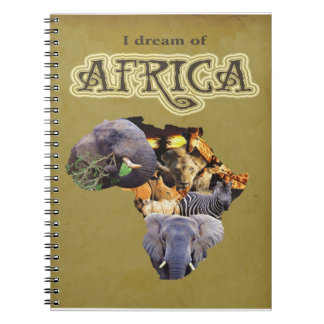 I dream of Africa 3 notebook