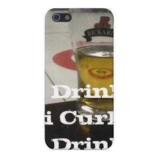 i Drink i Curl i Phone 4 iPhone 5 Covers