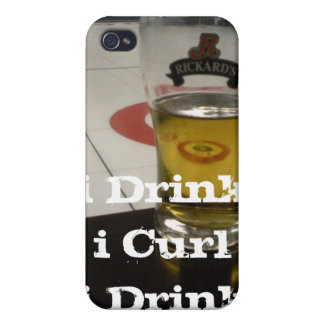 i Drink i Curl i Phone 4 Case For iPhone 4
