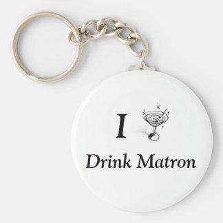 I Drink Matron Keychain