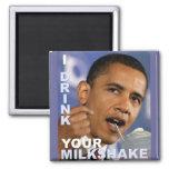 I Drink Your Milkshake! Square Magnet