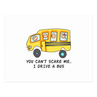 I DRIVE A BUS POSTCARD