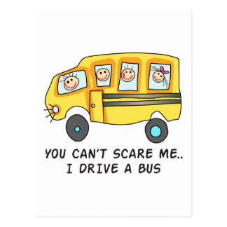 I DRIVE A BUS POST CARDS