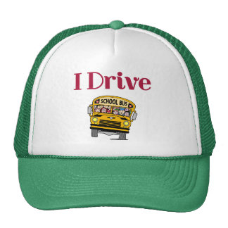 I Drive a School Bus hat