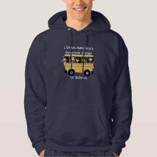 I Drive America's Precious Cargo Bus Driver Hoodie