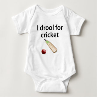 I Drool For Cricket Baby Bodysuit
