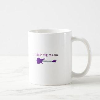 I Drop The Bass Coffee Mug