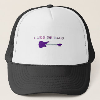 I Drop The Bass Trucker Hat