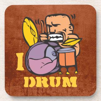 I Drum - Fun Drummer Drumming Coaster