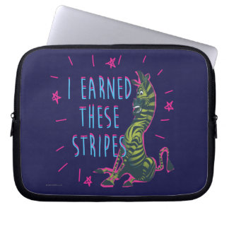 I Earned These Stripes Laptop Sleeve