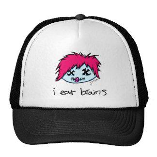 """""""i eat brains"""" Trendy Zombie Cap"""