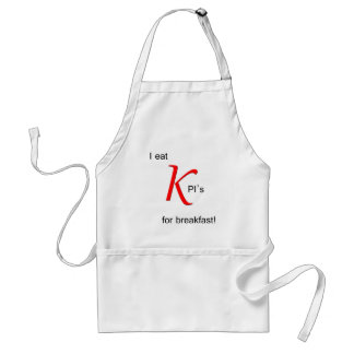 I Eat KPI's for Breakfast Standard Apron
