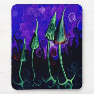 I eat mushrooms - magic mushrooms - mouse pad
