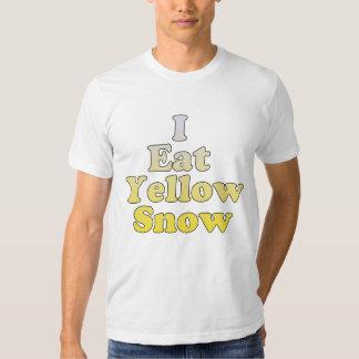 I Eat Yellow Snow T-shirt