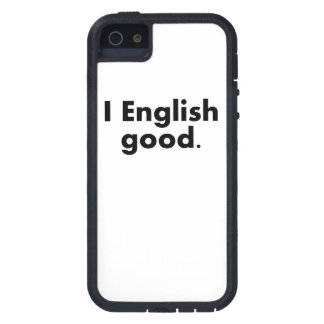 I English Good iPhone 5 Cover