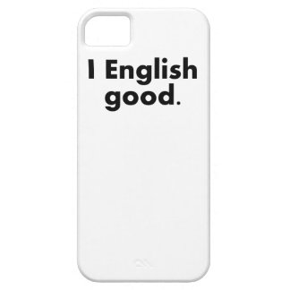I English Good iPhone 5 Covers