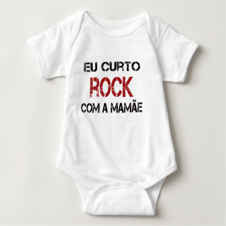 I Enjoy Rock with the mother Baby Bodysuit