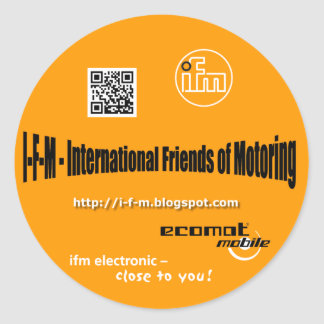 i-f-m sticker approximately