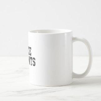I Fake Accents Basic White Mug