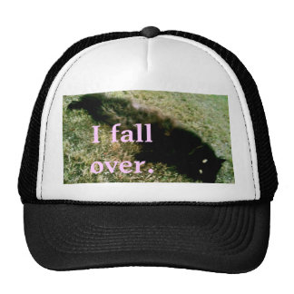 'I fall over' TRUCKER! Cap