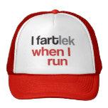 I FARTlek when I Run © - Funny FARTlek Cap