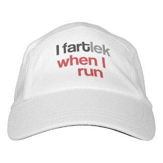 I FARTlek when I Run © Funny Runner Theme Hat Gift