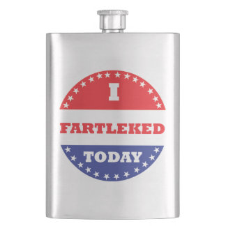 I Fartleked Today Flask