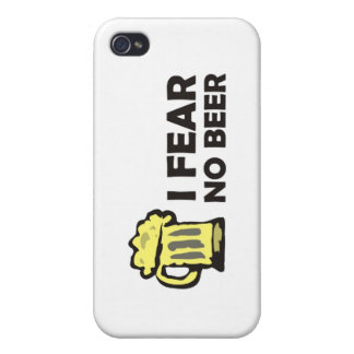 I fear no beer, funny foaming mug for party animal case for iPhone 4