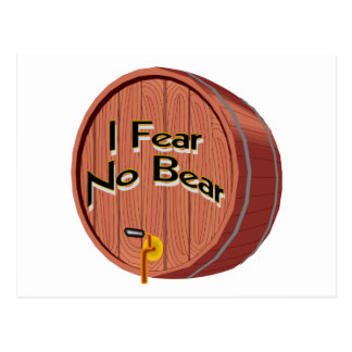 I Fear No Beer Postcard
