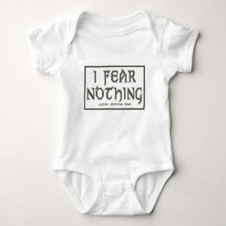 I Fear Nothing Baby Bodysuit