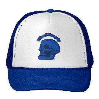 I Feel Empty Blue Skull Cap