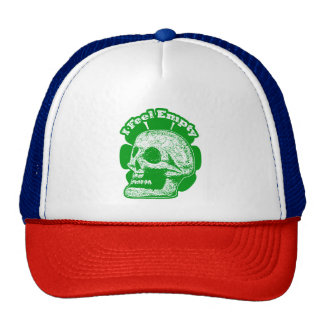 I Feel Empty - Green and White Cap