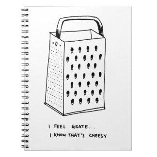 I Feel Grate Spiral Note Book