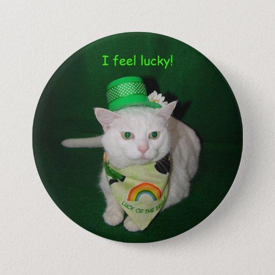 I Feel Lucky! 7.5 Cm Round Badge