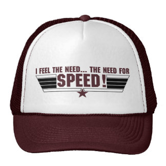 I feel the need... cap