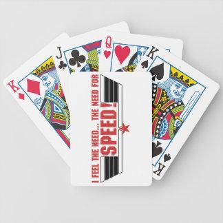 I feel the need... card decks