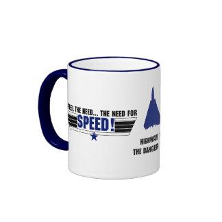 I feel the need... coffee mugs