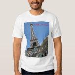"""I Fell In Love"" Eiffel Tower, Las Vegas Tee Shirts"