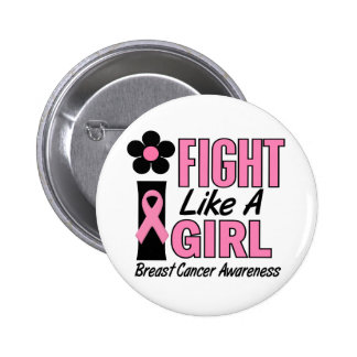 I Fight Like A Girl 1 1 Breast Cancer Pins