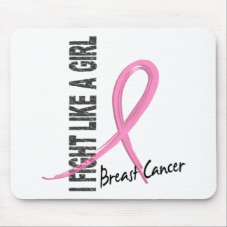 I Fight Like A Girl 7.1 Breast Cancer Mouse Pad
