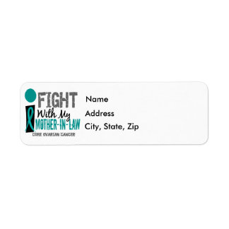I Fight With My Mother-In-Law Ovarian Cancer Return Address Label