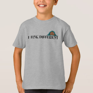 I Fink Different - Kids Light T T-Shirt