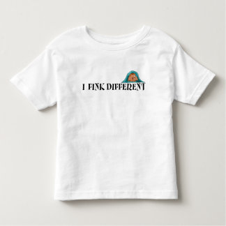 I Fink Different - Light Toddler T Toddler T-Shirt