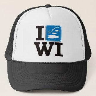 I Fish Wisconsin - WI Trucker Hat