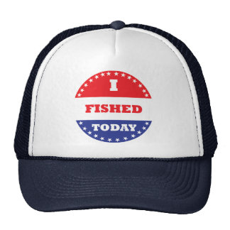 I Fished Today Cap