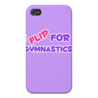 I Flip for Gymnastics! iPhone 4 Covers